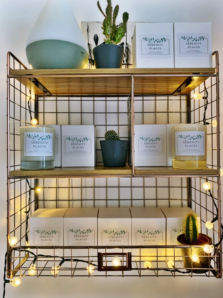 Serenity Places Soy Wax Candles |HOME